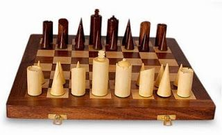 Simple cylinders chess set chess boards and pieces pinterest - Simple chess set ...