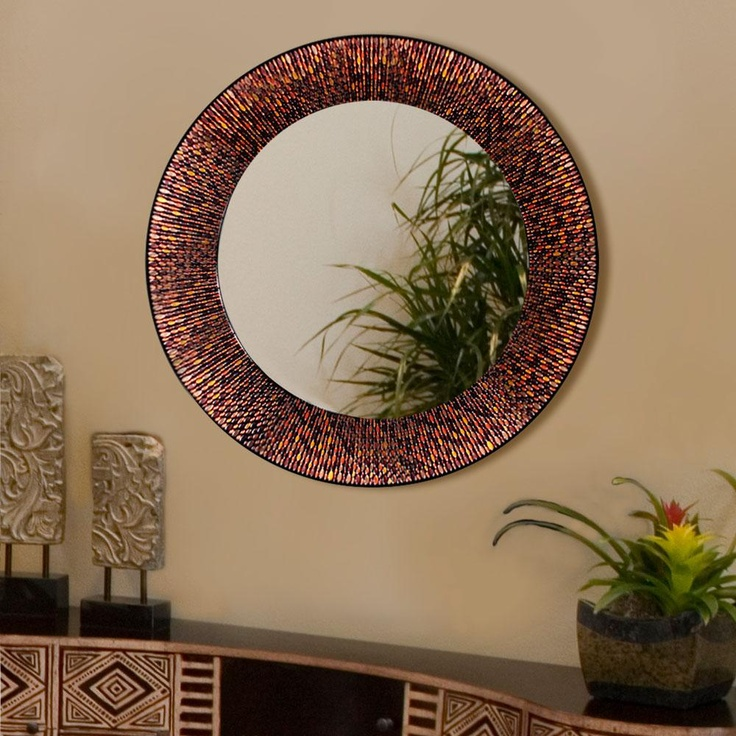 ... Beaded Circle - Decorative Mirror : Decorative Mirrors : Pinter