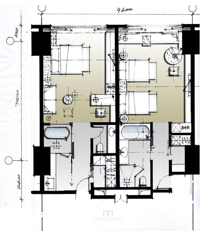 hotel plan plan pinterest. Black Bedroom Furniture Sets. Home Design Ideas