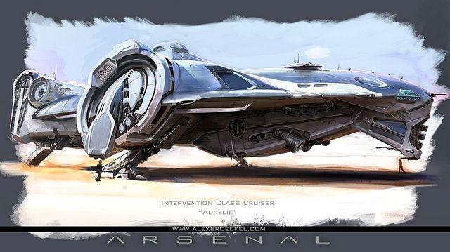 Futuristic Scifi Spaceship Designs | Future Vehicles ...