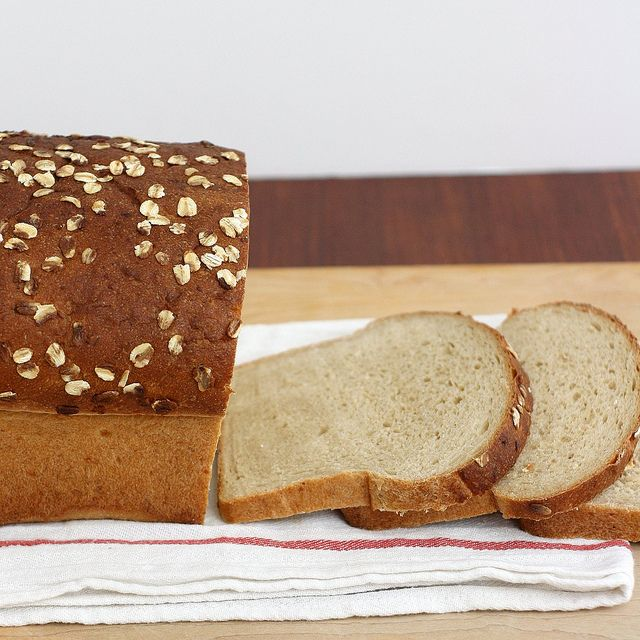 Tracey's Culinary Adventures: Whole Wheat Oatmeal Buttermilk Bread