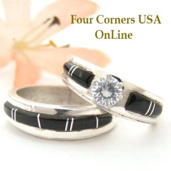 Pin By Four Corners USA OnLine On Native American Wedding Rings