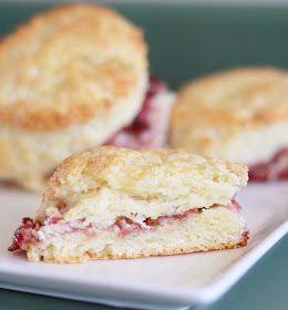 Lemon Drop: Vanilla Cherry Scones | breakfast brunch or lunch | Pinte ...