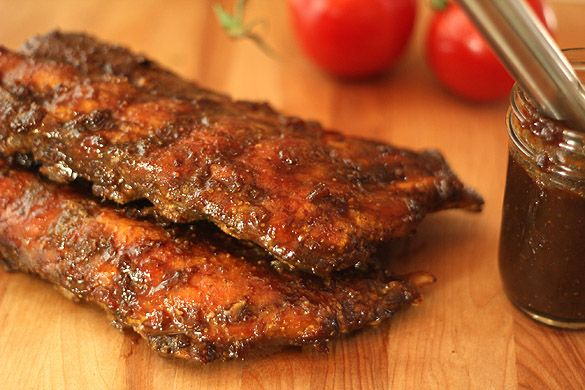 Smoked Baby Back Ribs with Espresso Barbecue Sauce — Creative ...