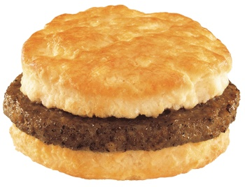 Hardee's Sausage Biscuit | Fast Food Faves! | Pinterest