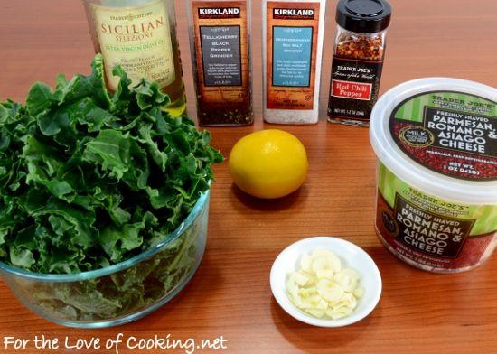 Lemon-Garlic Kale Saute | sides | Pinterest