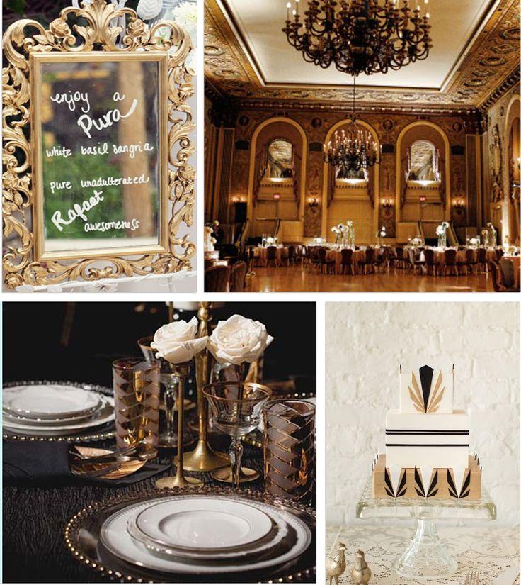 2015 Wedding Trends - Art Deco Wedding Decor