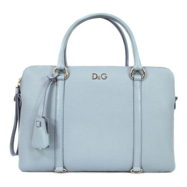 Lily Twist DB1397-E1125 Light Blue Leather Handbag (£685) found on ...