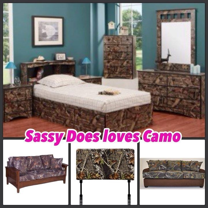 Camo Bedroom For The Home Pinterest