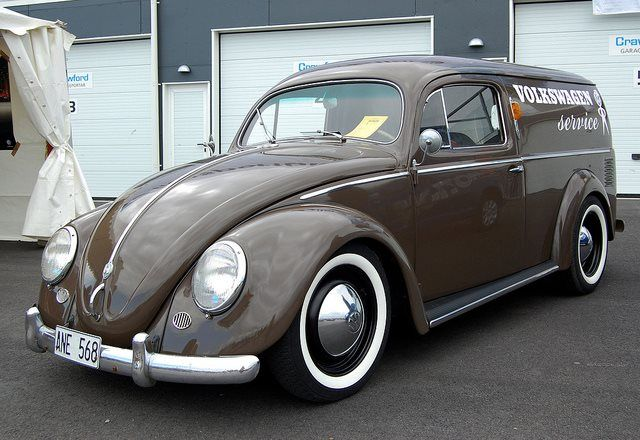 VW Bug Custom Service Van