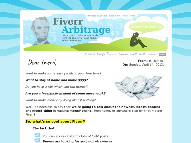 Fiverr arbitrage review get full review http scamereviews typepad