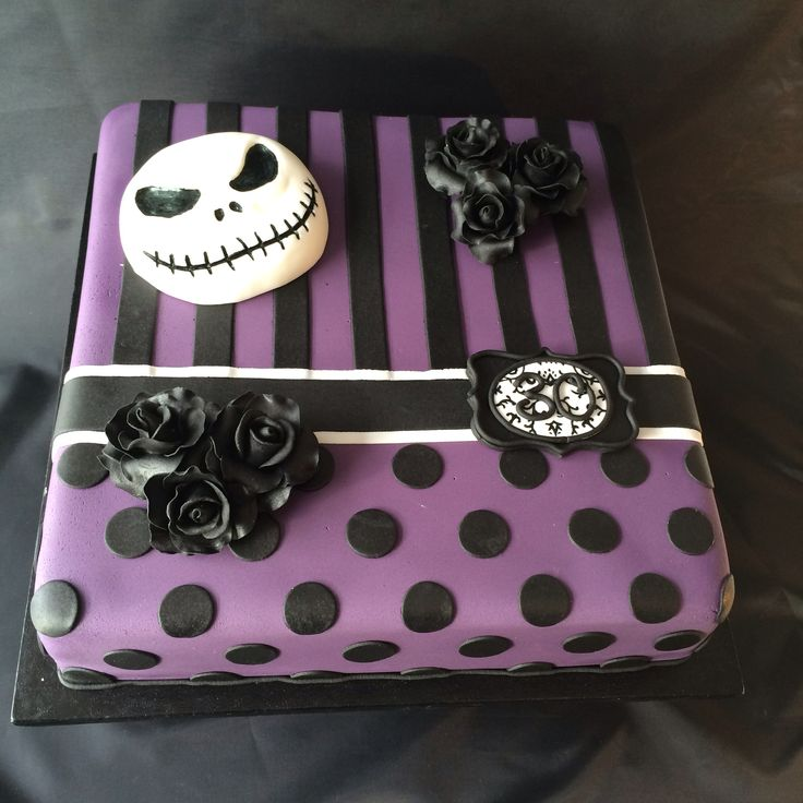 nightmare before christmas cake 18th birthday cake ideas pinterest