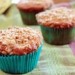 Banana Red Walnut Muffins