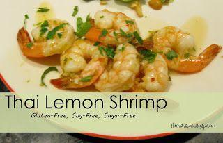 The Crazy Spork: Thai Lemon Shrimp | Recipes | Pinterest