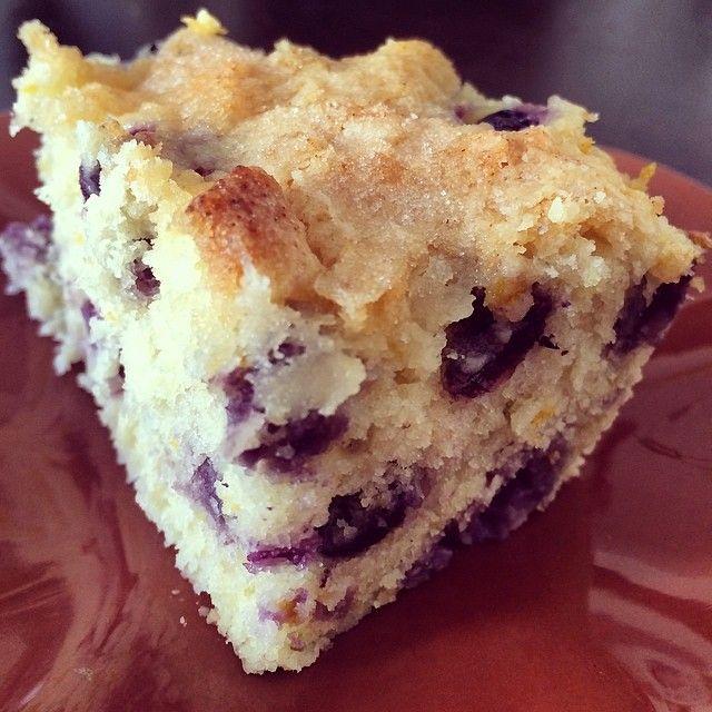 Buttermilk blueberry breakfast cake   Breakfast   Pinterest