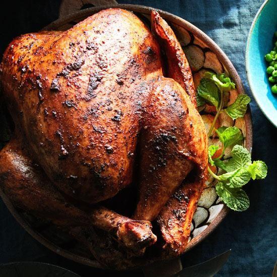 Tandoori-Spiced Turkey with Cracked Pepper Gravy | Recipe