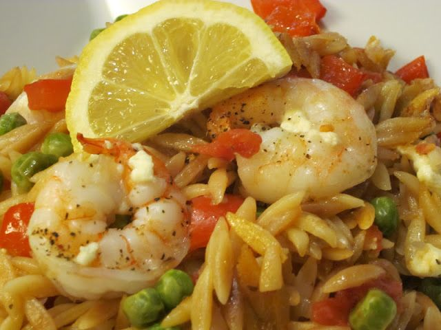 Cooking on the Front Burner: Skillet Shrimp and Orzo Casserole