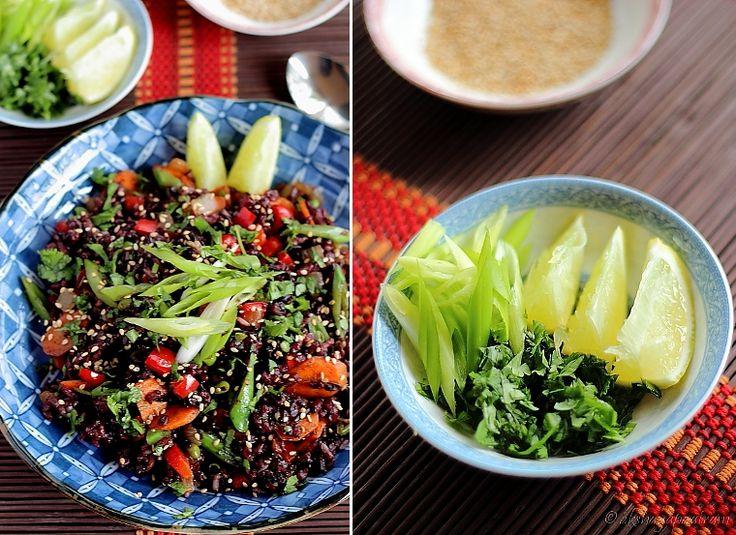 Thai Black Rice Salad | Foods | Pinterest