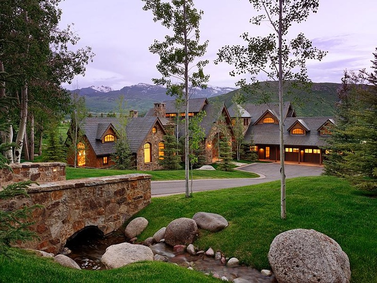 Dream mountain house aspen co rocky mountain high for Mountain dream homes