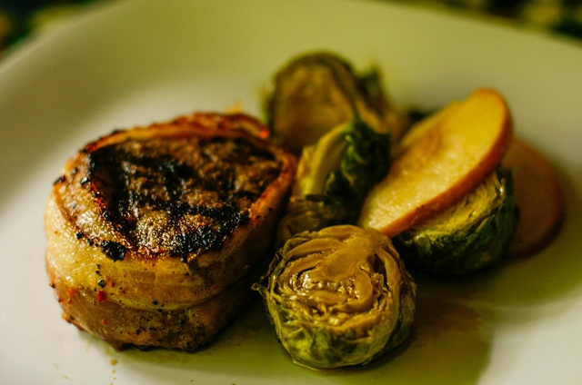 Butter 1 Winesap Apple 1 Cup Dark Brown sugar 1. Prep brussel sprouts ...