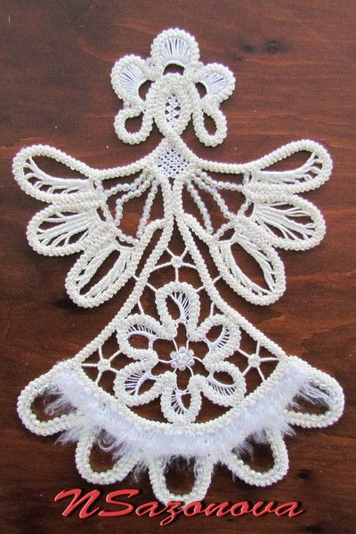 Romanian Cord Lace Angel