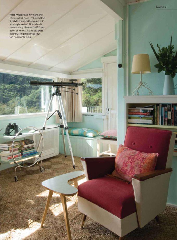 New Zealand Coastal Cottage