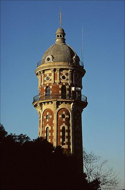 water tower . vallvidrera . barcelona . spain