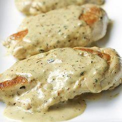 Chicken With Mustard Wine Cream Sauce Recipes — Dishmaps