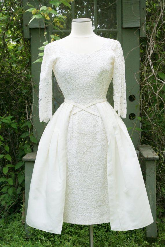 Vintage 1960s wedding dress vintage wedding dresses for Pinterest wedding dress vintage