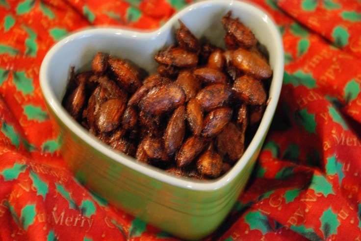 Sweet and Spicy Holiday Almonds | My Whole Food Life