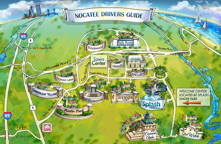 nocatee map | For the ... Michelle Williamson