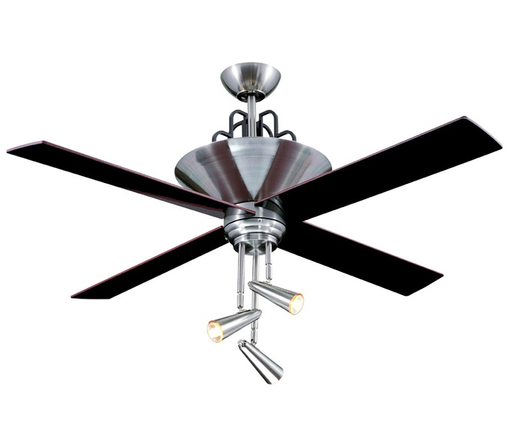52 galileo brushed chrome ceiling fan video