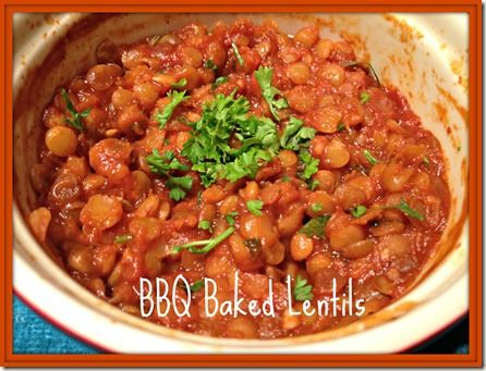 BBQ Lentils Recipe — Dishmaps