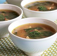 Asian-Style Ginger Chicken Soup. We add cellophane noodles and sub the ...