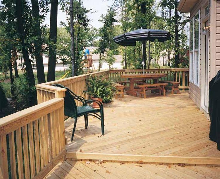 wrap around decks deck ideas