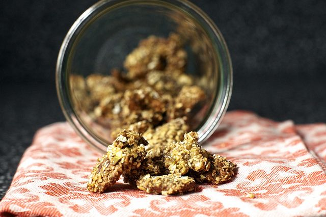 Granola-Crusted Nuts | Smitten Kitchen Made a batch this afternoon and ...