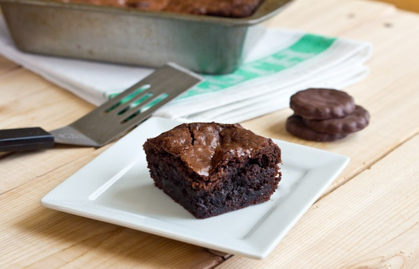 Thin Mint Brownies | Recipe
