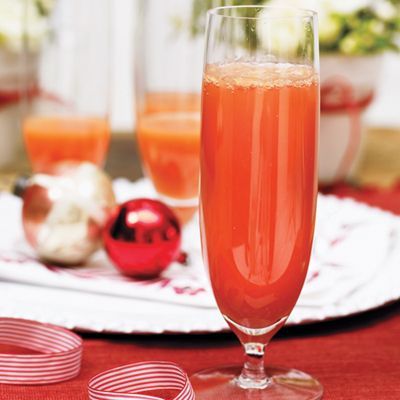 Holiday cocktails: blood orange mimosas
