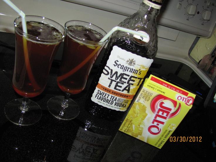 "April Fool's~ Arnold Palmer Jello Shot ""Drinks"""