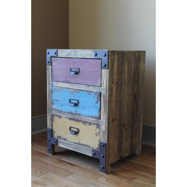 Multi Colored Furniture Crafts Pinterest