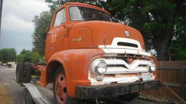 Craigslist Ford 1954 Big Job Coe For Sale | Autos Post