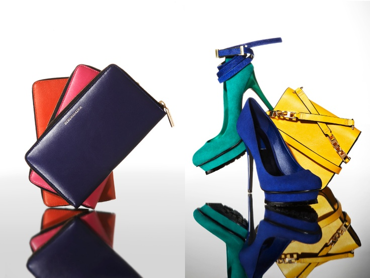 LIMITED EDITION  Striking accessories take center stage this fall. From carryalls in bright, punchy colors to rocker-chic booties to lustrous array of dazzling clutches, BCBGMAXAZRIA offers a luxurious take on these necessary additions.