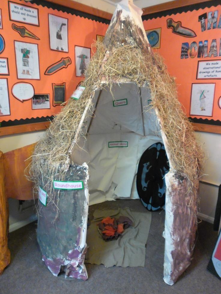 Celtic Roundhouse Crafts For Kids Pinterest