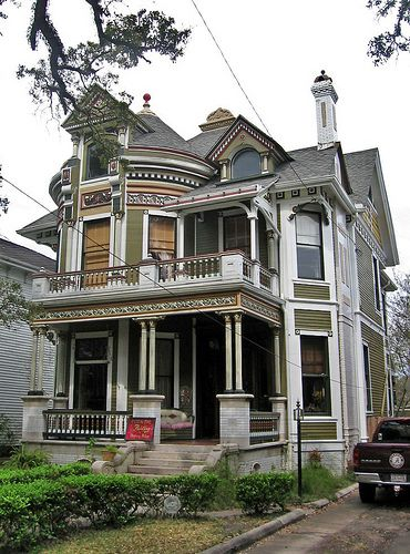 Queen Anne Style House Mobile Home Pinterest