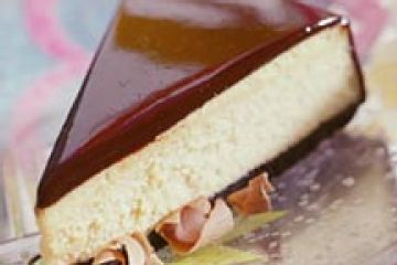 Chocolate-Glazed Cheesecake | Cheesecake! | Pinterest