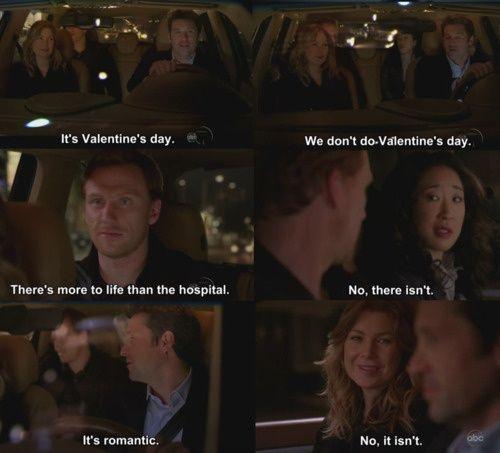 valentine's day grey's anatomy