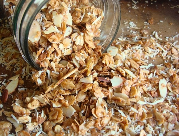 Coconut Almond Granola- just made it and it's the best ever!!!