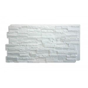 Romana Faux Stone Panels - White