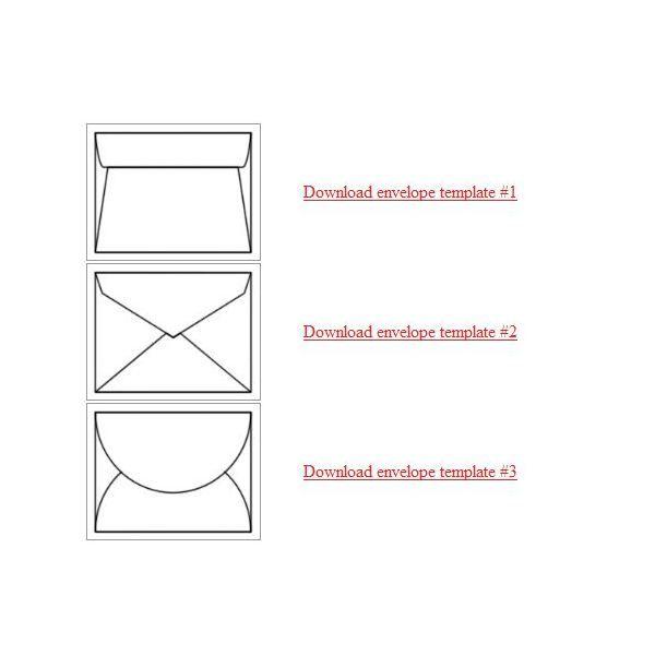 Make your own envelope templates pinterest for Homemade envelopes