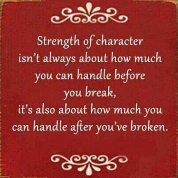Inspirational quotes on inner strength quotesgram for Short inspirational quotes about strength